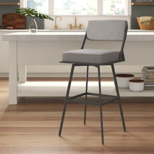 Shiffer 30 Swivel Bar Stool Brayden Studio