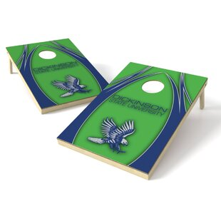 Tailgate Toss Dickinson State Cornhole Board (Set of 2)