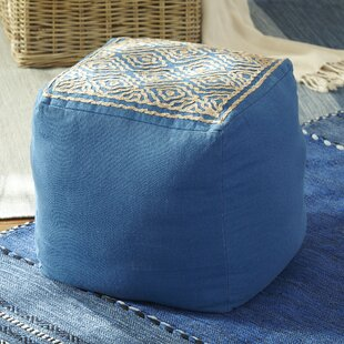 Barbee Pouf by Bungalow Rose