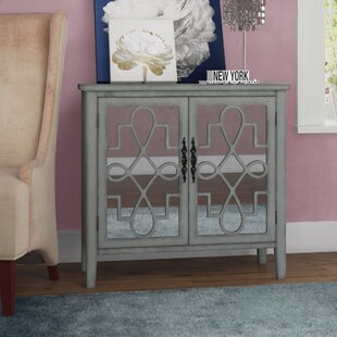 Armanno Cabinet with Raised Scroll Detail 2 Door Accent Chest by Willa Arlo Interiors