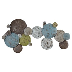 Metal Circle Wall Decor circle wall decor | wayfair