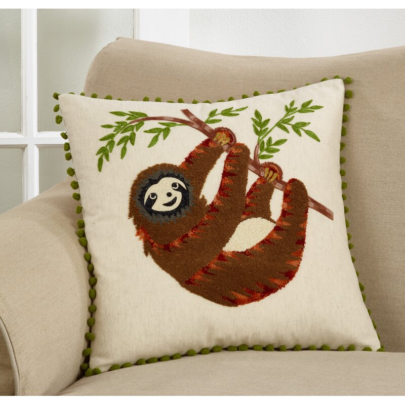 Ebern Designs Rixensart Embroidered Pillow Cover Only Wayfair Ca