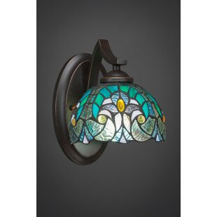 Price comparison Cambridge 1-Light Armed Sconce By World Menagerie