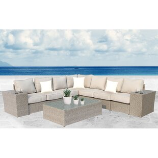 Rosecliff Heights Winsford 10 Piece Sectional Set with Cushions