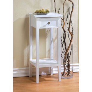 Compare prices Willow End Table With Storage By Zingz & Thingz