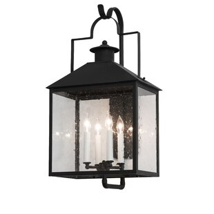 Find for Greenbriar Oak 4-Light Outdoor Wall Lantern By Meyda Tiffany