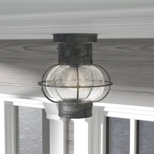 Bargain Fallsburg 1-Light Flush Mount By Laurel Foundry Modern Farmhouse
