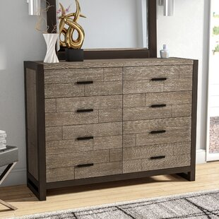 Wade Logan Riverdale 8 Drawer Double Dresser