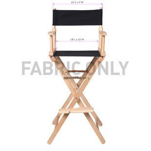 Folding Director Chair Fabric by Trademark Innovations