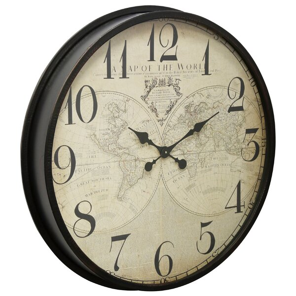 Buy World Map Clock.  World Map Clock Wayfair
