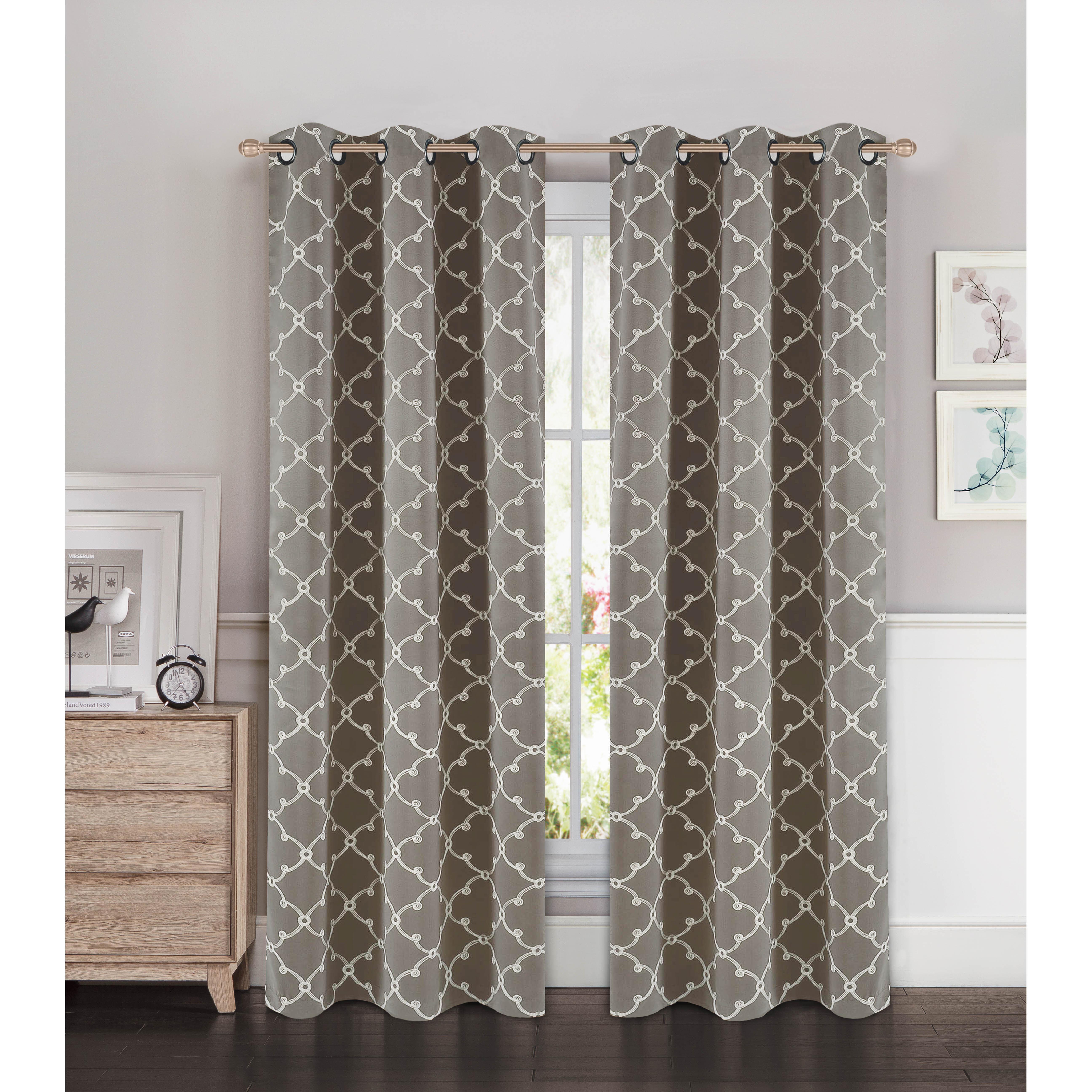 Geometric Winston Porter Curtains Drapes You Ll Love In 2021 Wayfair