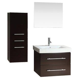 28 inch  Single Bathroom Vanity Set with Mirror