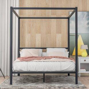 Burnice Queen Canopy Platform Bed