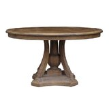 Stephani Solid Wood Dining Table by Millwood Pines