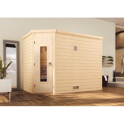 Massivholzsauna ohne Ofen für 4 Personen Weka Door Type: Holztür | Bad > Sauna & Zubehör > Saunen | Weka