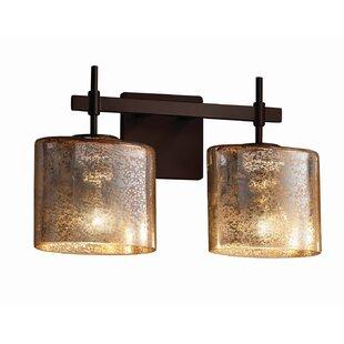 Best Luzerne 2-Light Vanity Light By Brayden Studio