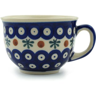 Polish Pottery Mosquito Coffee Mug