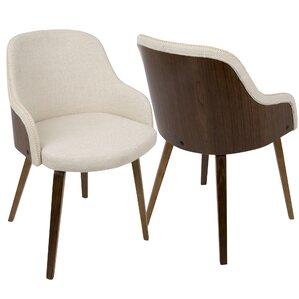 Brighton Mid-Century Modern Upholstered D..