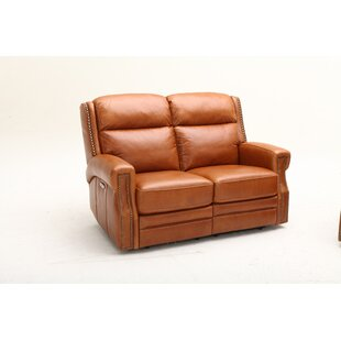 Southern Motion Maxwell Leather Reclining Loveseat