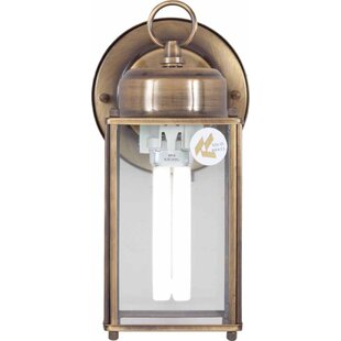 Coupon 1-Light Outdoor Wall Lantern By Volume Lighting