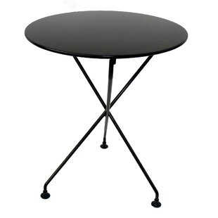 European Café Round Folding Bistro Table