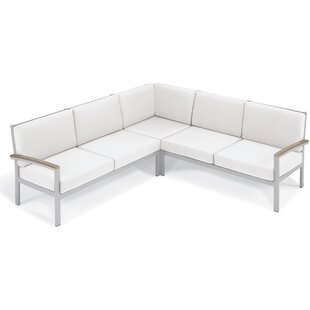 Farmington Modular Corner Patio Sectional with Cushions