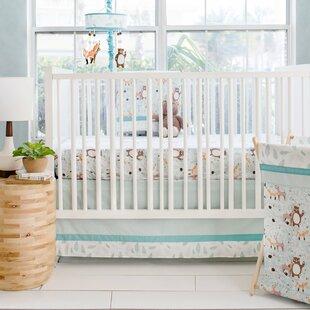 Forest Friends 3 Piece Crib Bedding Set