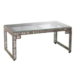 Ambridge Woven Coffee Table by World Menagerie