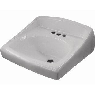 Bargain Regal Wall Hung Bathroom Sink By Sloan