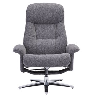 Colella Manual Swivel Recliner with Ottoman by Darby Home Co