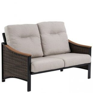 Brazo Woven Loveseat with Cushions