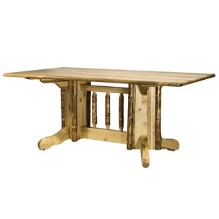 Tustin Double Pedestal Solid Wood Dining ..