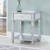 Glenaire End Table with Storage by House of Hampton®