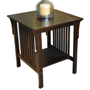 Affordable Bay Shore Mission End Table by Wildon Home®