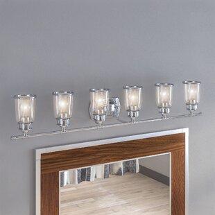 Buy luxury Laurenza Bath 6-Light Vanity Light By17 Stories