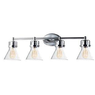 Nicastro 4-Light LED Vanity Light By Williston Forge