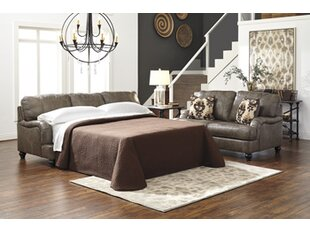McDonald Queen Leather Sleeper Sofa