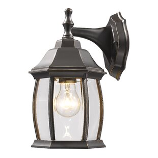 Clearance Digennaro 1-Light Outdoor Wall Lantern By Charlton Home