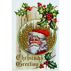 'Christmas Greeting' Buyenlarge Graphic Art
