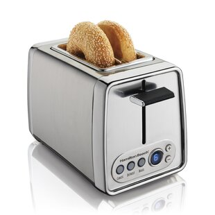 2 Slice Modern Chrome Toaster