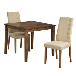 Langner 3 Piece Dining Set Charlton Home