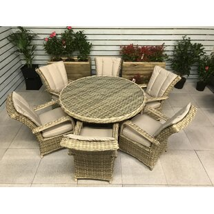 Patrica 6 Seater Dining Set With Cushions Image