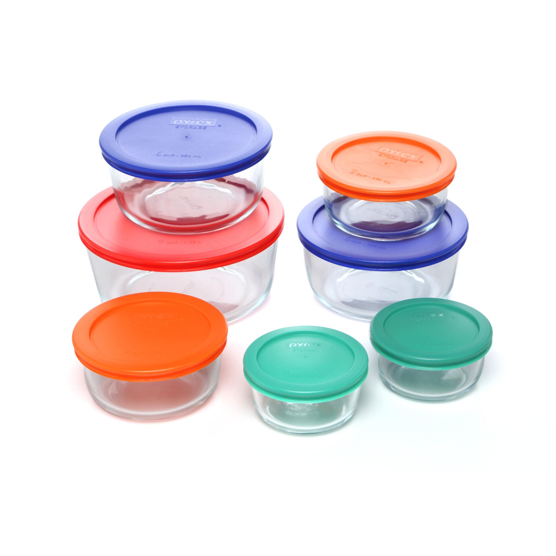 c260b2909c62 Pyrex Storage Plus 7 Container Food Storage Set   Reviews