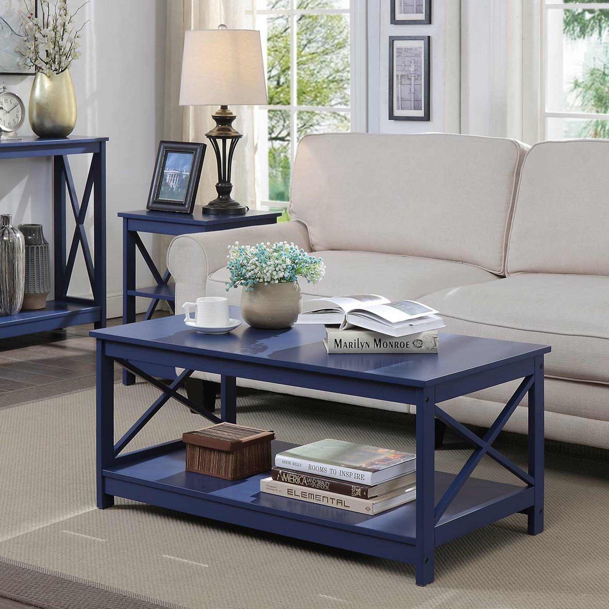 Blue Coffee Tables You Ll Love In 2020 Wayfair