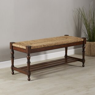 Heritage Wood Storage Bench by