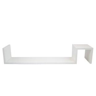 Deshawn Wall Shelf (Set Of 2) By Metro Lane