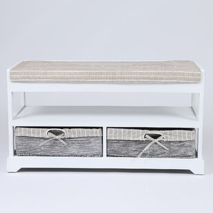 Celine Upholstered Storage Bench by Highland Dunes