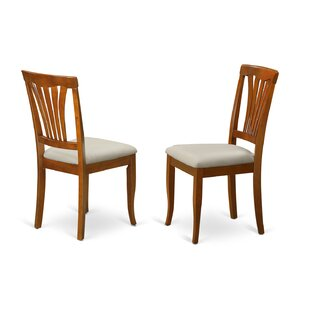 August Grove Spurling Side Chair in Microfiber (Set of 2)