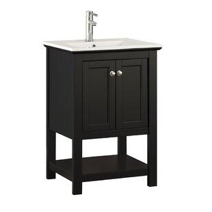 Inch Bathroom Vanities - 24 inch black bathroom vanity
