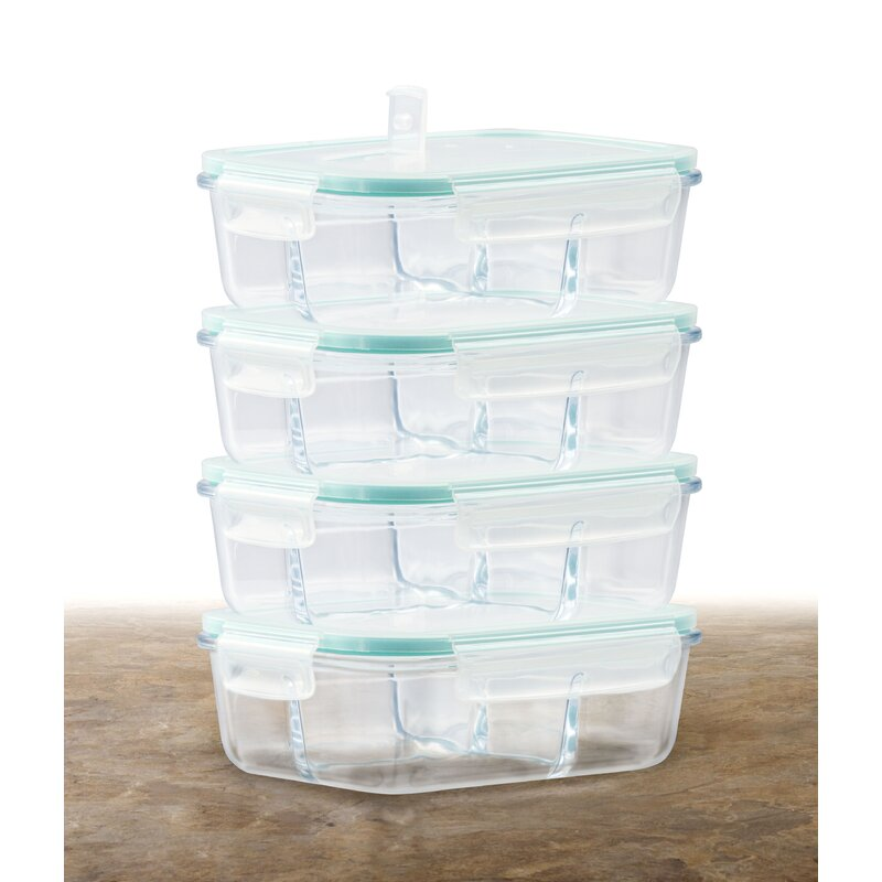 cc820a515ede Glass Meal Prep 35 Oz. Food Storage Container